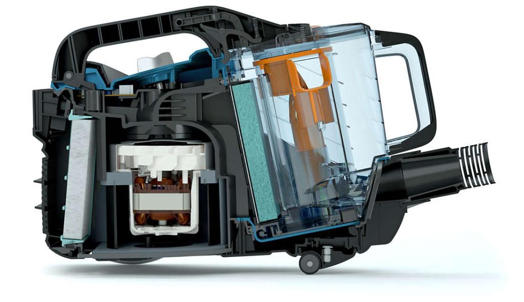 Test de l aspirateur sans sac philips fc9722 09 powerpro - La maison de l aspirateur ...