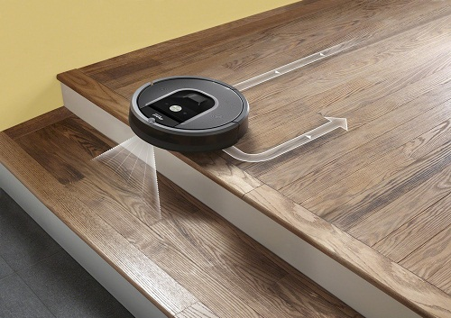 système anti-chute Roomba 960