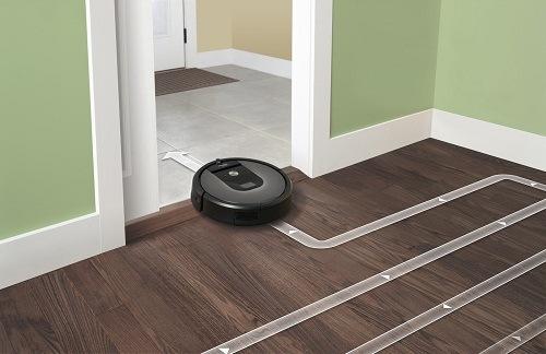 système de navigation méthodique iRobot Roomba 960